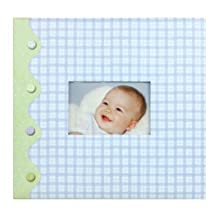 Tapestry by CR Gibson Little Pond Baby Boy Complete Scrapbook Kit, 12 by 12-Inch