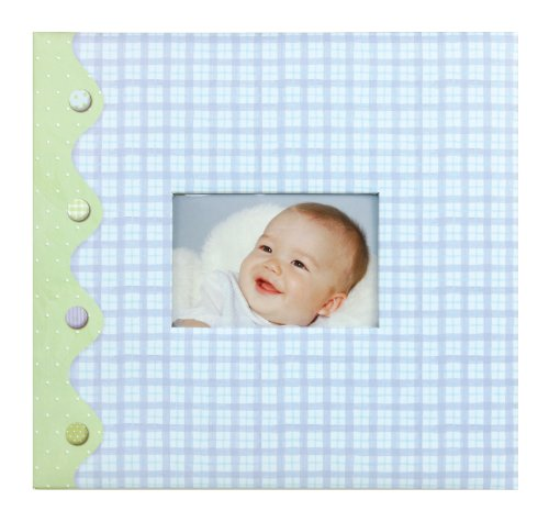 C.R. Gibson Complete Scrapbook Kit, 20 Illustrated Pages and 10 Protective Page Sleeves, Measures 12