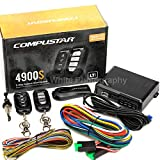 Compustar CS4900-S (4900S) 2-way Remote Start and Keyless Entry System with 3000-ft Range