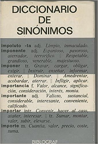 9517ff49ba7c Diccionario de sinonimos  Amazon.es  Samuel Gili Gaya  Libros