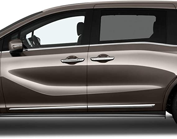 Dawn Enterprises LCM-ODYSSEY18-261415 Lower Chrome Molding Compatible with Honda Odyssey