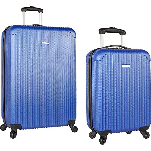 Travel Gear 19 and 28 Hardside Spinner Luggage Set with Carry on, Navy