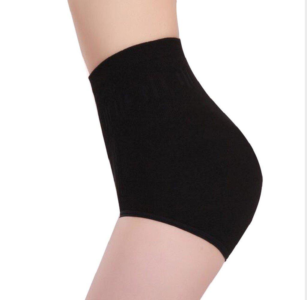 Conjunto lencería, Internet Mujeres Cintura Alta Ninguna Ropa Interior Del Rastro Cuerpo De Control Shaper Calzoncillos Adelgazantes Pantalones (Negro): ...
