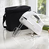 Oster FPSTHMCN1W-33A 6 Speed Hand Mixer, White