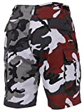 Rothco Two-Tone Camo BDU Short, Red Camo/City Camo, L