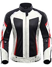 Motorcycle Jacket for Women Breathable Mesh Cross-Country Anti-Fall Racing Suit Suit Motorcycle Rider Equipment