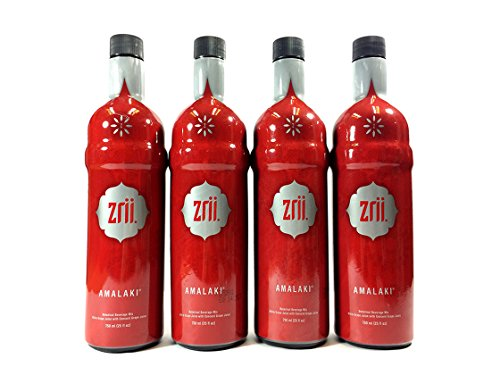 [The Original Amalaki]-4 bottle Zrii AMALAKI Botanical Beverage Mix 750ml