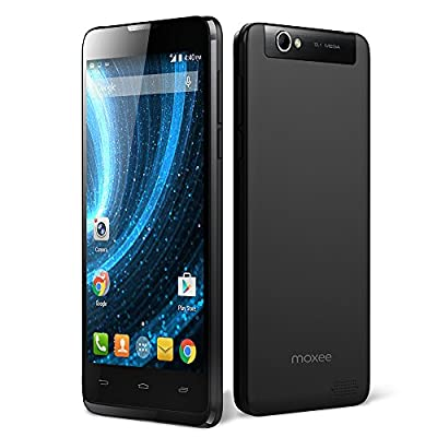 Moxee X1 Smartphone - Unlocked - GSM - 4G HSPA+ Speed - 5.0 Inch Screen - 8 GB ROM