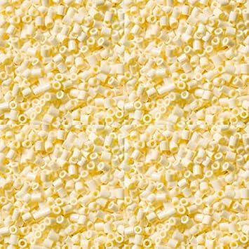 LIHAO 2.6mm 2000pc//bag Iron Fuse Beads Refill Creamy White
