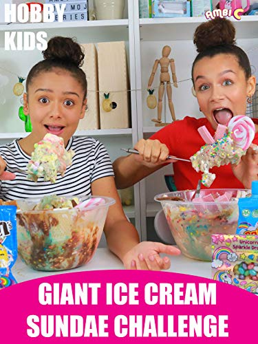 Hobby Kids Giant Ice Cream Sundae Challenge]()