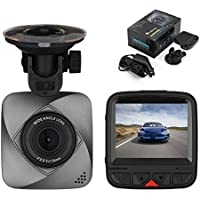 isYoung Dashboard Camera 720P HD Car Vedio Recorder Car Dash Cam Car Vehicle Dashboard DVR Camera Video Recorder with Loop Recording, 120 Degree