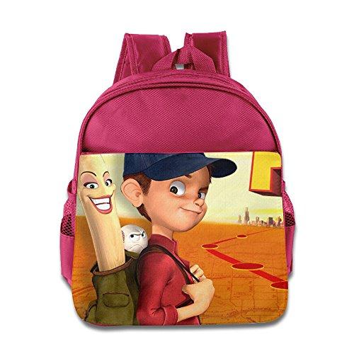 Winner Everyones Hero Toddler School Bag Pink