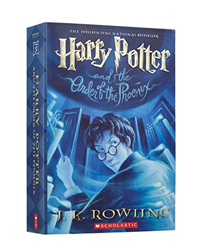 5 Paperback Books - Harry Potter And The Order Of The Phoenix