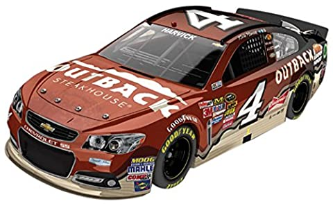 Kevin Harvick 4 Outback Steakhouse 2014 SS Chevrolet Sprint Cup Diecast Car, 1:24 Scale Elite HOTO, Official Diecast of NASCAR