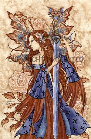Dragon Sword Amy Brown Open Edition 11