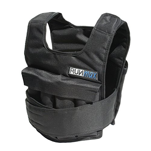 RUNmax Adjustable Weighted Vest without Shoulder Pads (80)