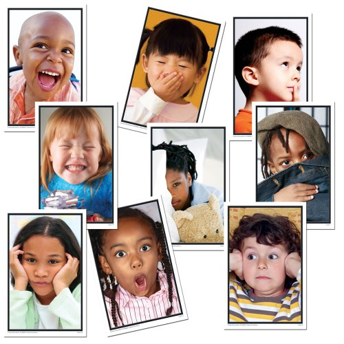 - Key Education More Emotions Photographic Learning Cards (24 Cards) (845031)