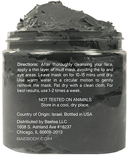 Dead-Sea-Mud-Mask-Best-for-Facial-Treatment-Acne-Oily-Skin-Blackheads-Minimizes-Pores-Reduces-Wrinkles-and-Improves-Overall-Complexion-Natural-Minerals-From-The-Dead-Sea-88-oz