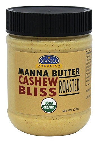 Manna Organics – Manna Butter Roasted Cashew Bliss – 12 oz. For Sale