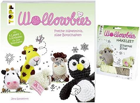 Topp Häkelset Wollowbies Sören Schneemann Häkeln