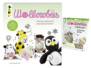 Wollowbies Häkelset Schantall Schaf Buch Wollowbies Freche