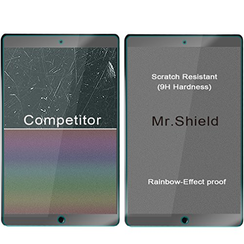 [2-PACK]- Mr Shield For iPad Mini 4 [Tempered Glass] Screen Protector [0.3mm Ultra Thin 9H Hardness 2.5D Round Edge] with Lifetime Replacement Warranty
