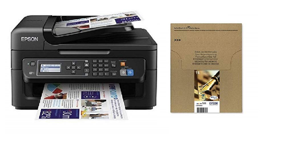 Epson Workforce WF-2630WF - Impresora multifunción de tinta + Cartucho Multipack