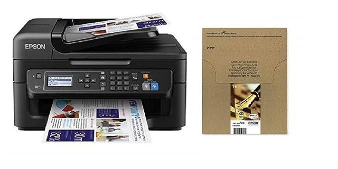 Epson Workforce WF-2630WF - Impresora multifunción de tinta + Cartucho Multipack