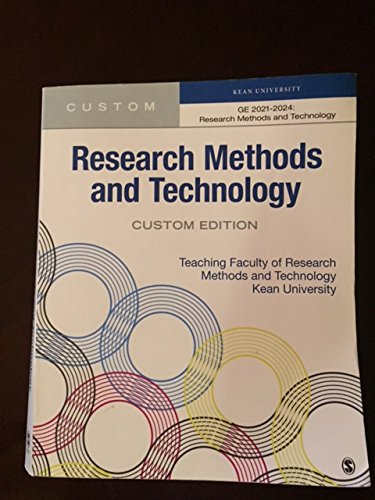 Read Online Research and Technology (Custom Kean University Edition) pdf
