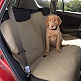 Aussie Naturals Dog Car Seat Cover - Waterproof Backing (Tan)
