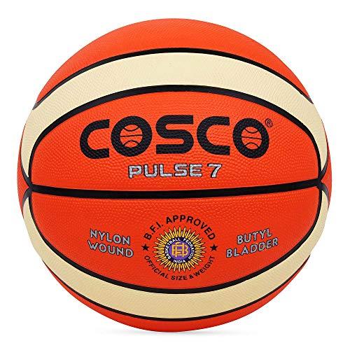 Cosco Pulse Rubber Basketball, Size 7