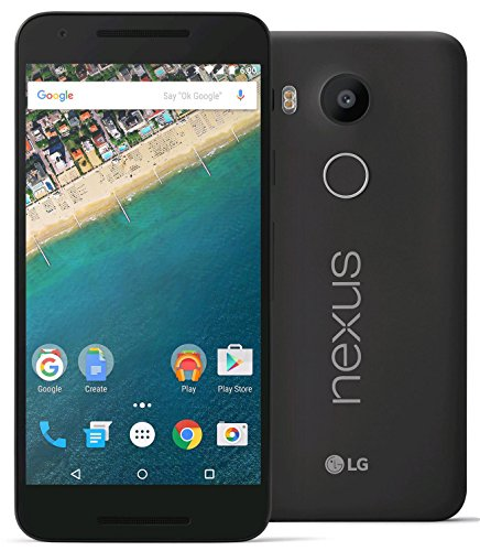 LG Nexus 5X H790 32GB Unlocked 4G LTE Smartphone for all GSM + CDMA Carriers (AT&T, T-Mobile, Verizon, Sprint) w/ 12MP Camera – Carbon Gray (Certified Refurbished)