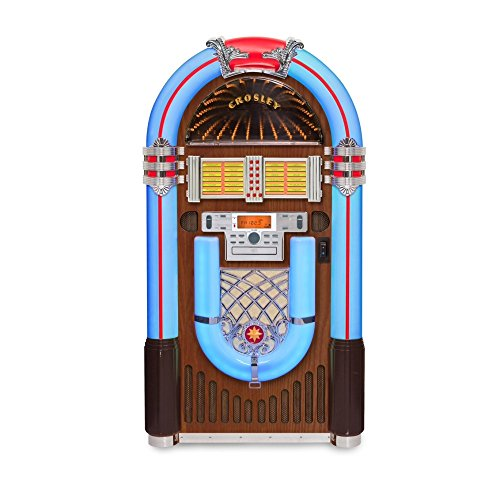 Crosley Full-Size Bluetooth Jukebox - 48in.H