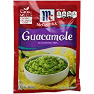 McCormick Guacamole Seasoning Mix, 1 oz (12 Pack)