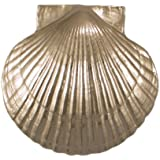 Sea Scallop Door Knocker - Nickel Silver (Premium Size)