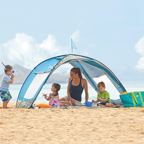 & Amazon.com: Sun Smarties Family Beach Cabana Tent: Toys u0026 Games