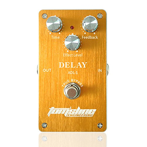 Aroma ADL-1 Delay Electric Guitar Effect Pedal True Bypass with Aluminum Alloy Housing