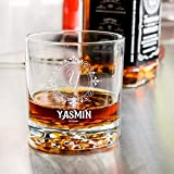 Personalized Libbey Nob Hill Rocks/Old Fashioned Glass