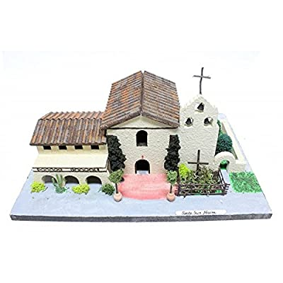 California Mission Model Kit Santa Inez Mission: Arts, Crafts & Sewing