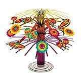 """Fun-filled Fiesta Cinco de Mayo Party Mini Cascade Centerpiece Decoration, Foil, 7"""""""
