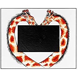 CafePress - Valentine-Giraffe - Decorative 8x10 Picture Frame