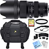 Sigma 50-100mm F/1.8 DC HSM Lens for Canon Mount includes Bonus Sandisk 64GB Memory Card and More