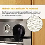 EUDEMON 1 PackChildproof Oven Door Lock, Oven Front Lock Easy to Install and Use Durable and Heat-Resistant Material no Tools Need or Drill