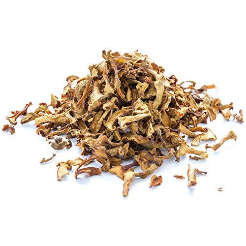Dried Chanterelle Mushrooms, Golden - 1 lb