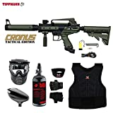 MAddog Tippmann Cronus Tactical Beginner Protective HPA Paintball Set Deal (Small Image)