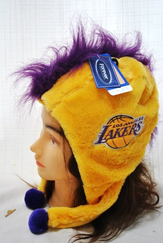 (Los Angeles Lakers 2012 Mohawk Short Thematic Hat)