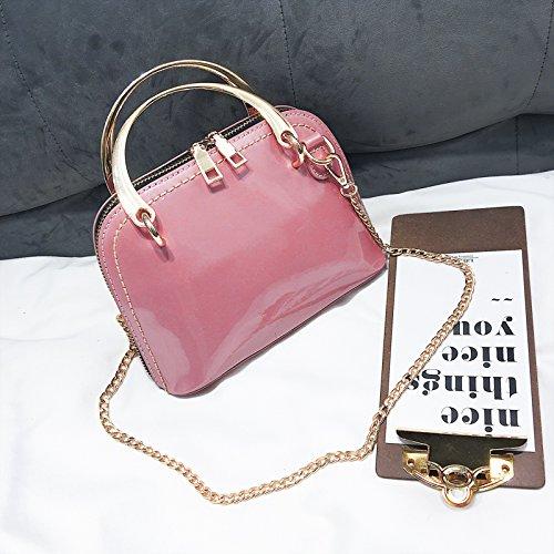 JUSTYOU-POPO Dames Sac Nouvelle Mode Sac à Main Rétro Simple Petit Sac Chaîne Sac épaule Messenger SacCadeau D