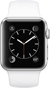 Apple Watch 7000 Series 38 mm Aluminum Case Sport with White Sport Band
