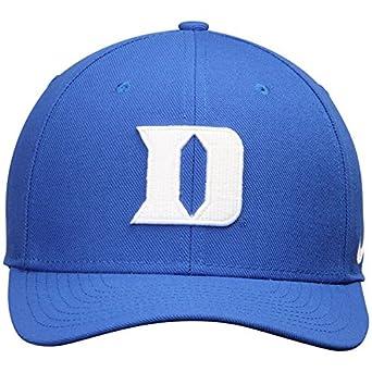 wholesale dealer 4300c 5c2ba Amazon.com   NIKE Duke Blue Devils Wool Classic Performance Adjustable Hat  Royal   Clothing