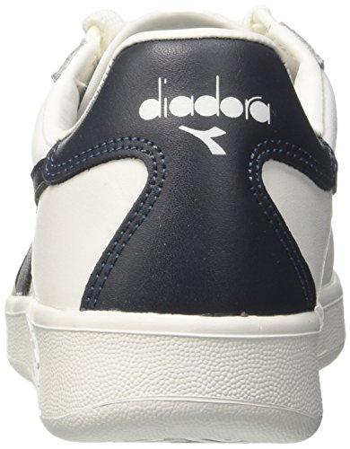 Diadora Herren B. Elite Gymnastikschuhe Elfenbein (Bianco/blu Profondo/blu Profon)